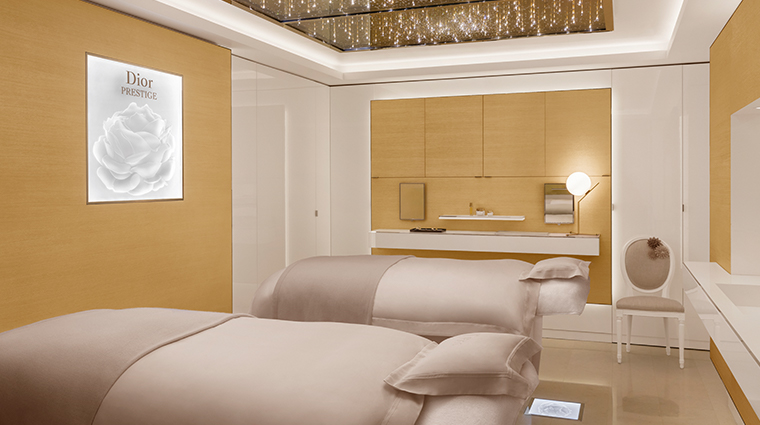 dior institut double treatement room