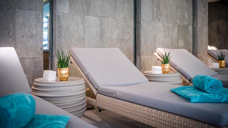 dipiu day spa indoor pool lounge