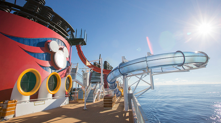 disney cruise line deck