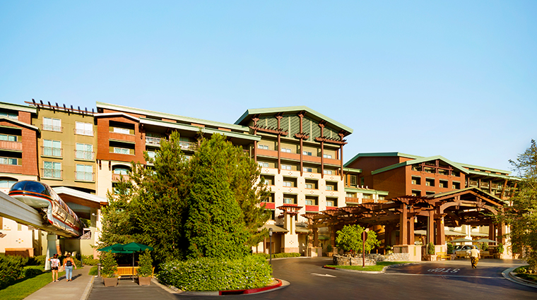 disneys grand californian hotel spa exterior