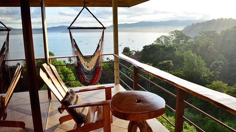 drake bay getaway resort bungallow deck