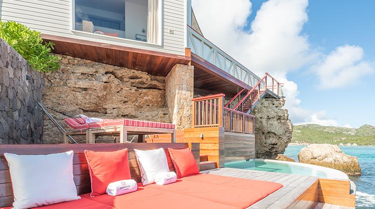 eden rock st barths premium suite terrace
