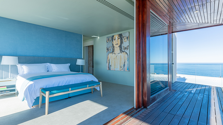 ellerman house bedroom and view