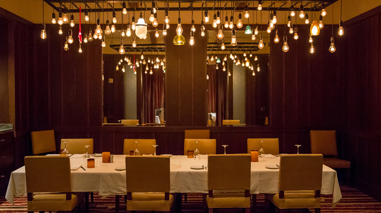 ember grille wine bar long table