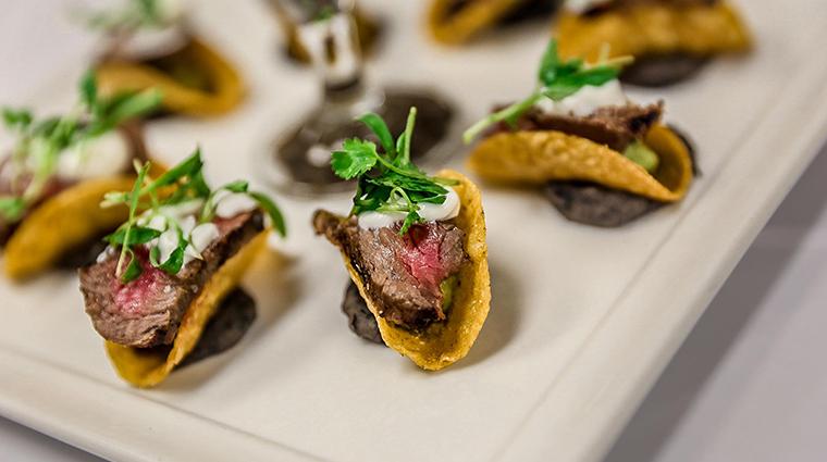 ember grille wine bar mini taco