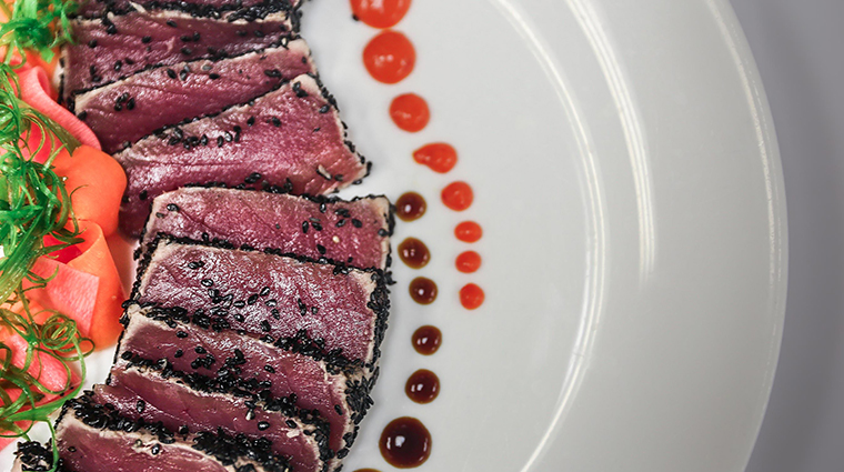ember grille wine bar seared tuna