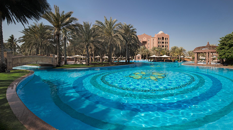 emirates palace east pool
