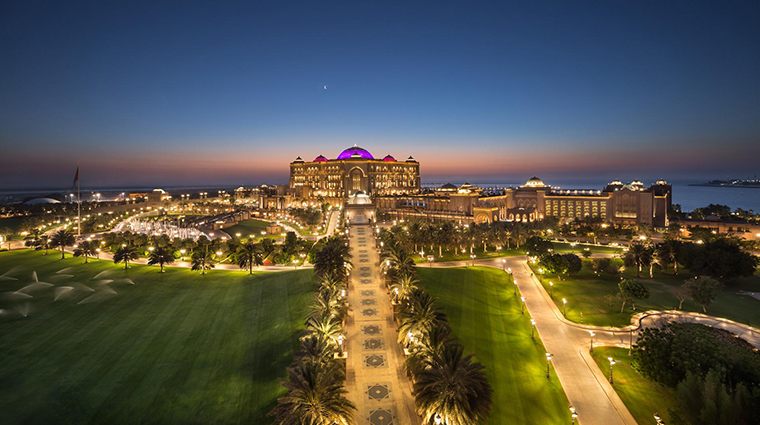 emirates palace night