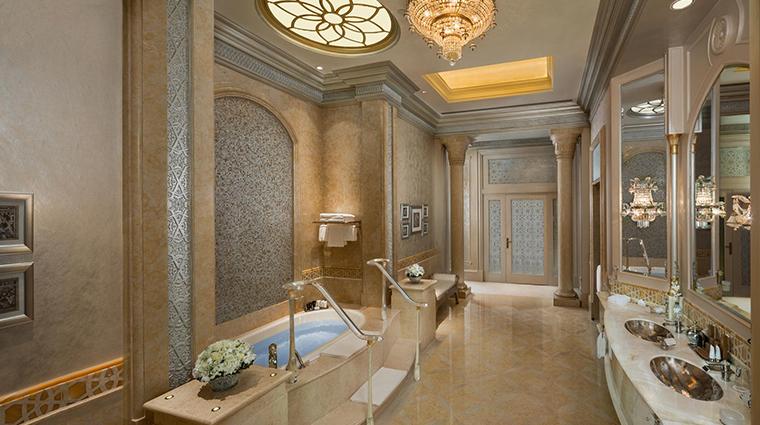 emirates palace palace suite bathroom