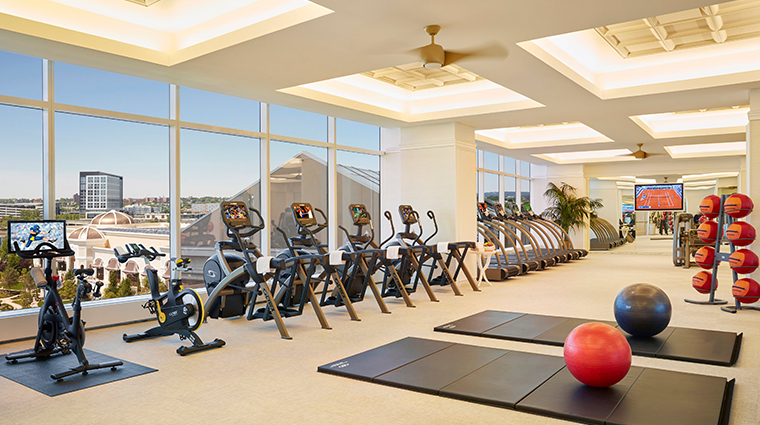 encore boston harbor fitness center
