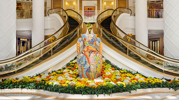 encore boston harbor staircase artwork