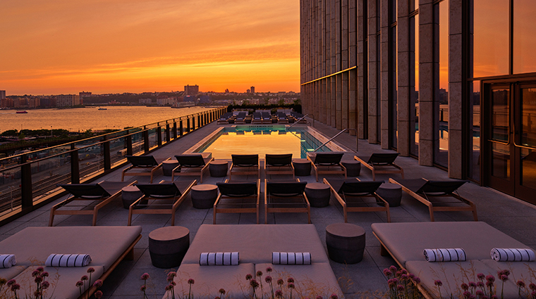 equinox hotel hudson yards pool