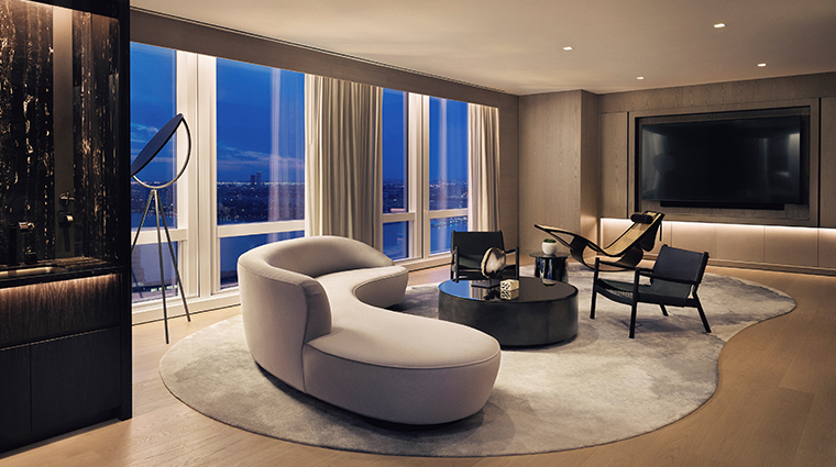 equinox hotel hudson yards presidential suite