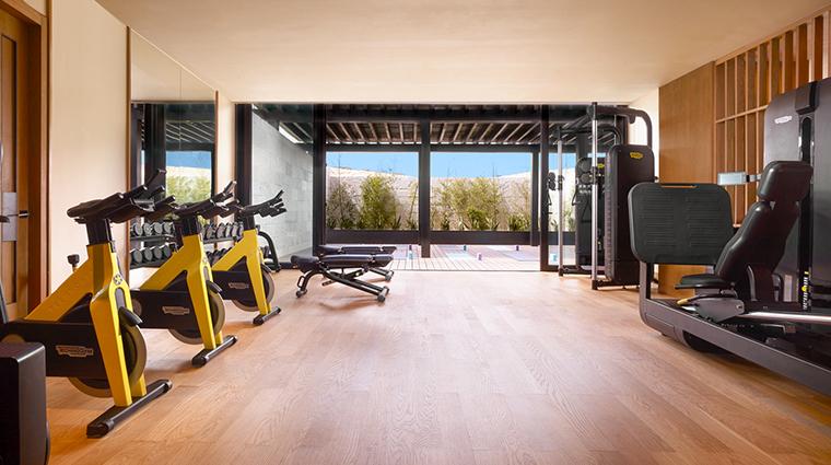 nobu hotel los cabos fitness center