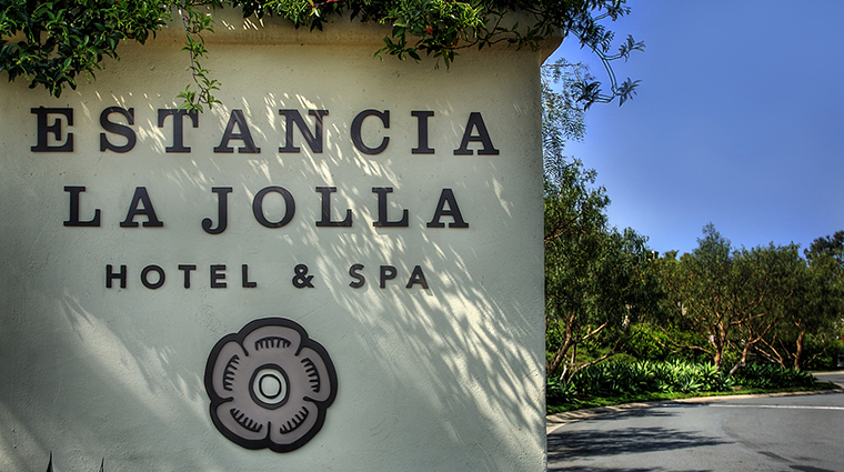 estancia la jolla hotel spa entrance