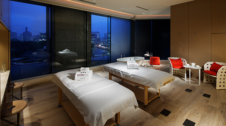 evian spa at palace hotel tokyo spa suite