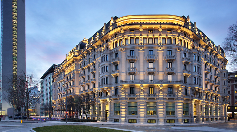 excelsior hotel gallia a luxury collection hotel exterior