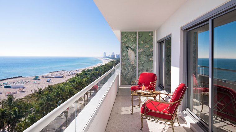 faena hotel miami beach balcony oceanfront view