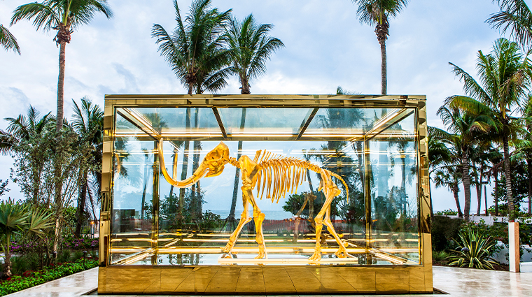 faena hotel miami beach golden mammoth