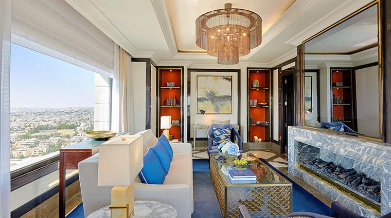 fairmont amman Gold One Bedroom Suite Living Room