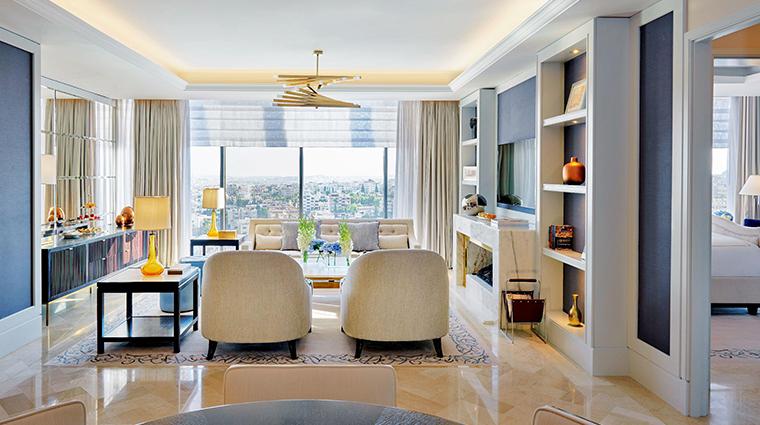 fairmont amman executive suite living room
