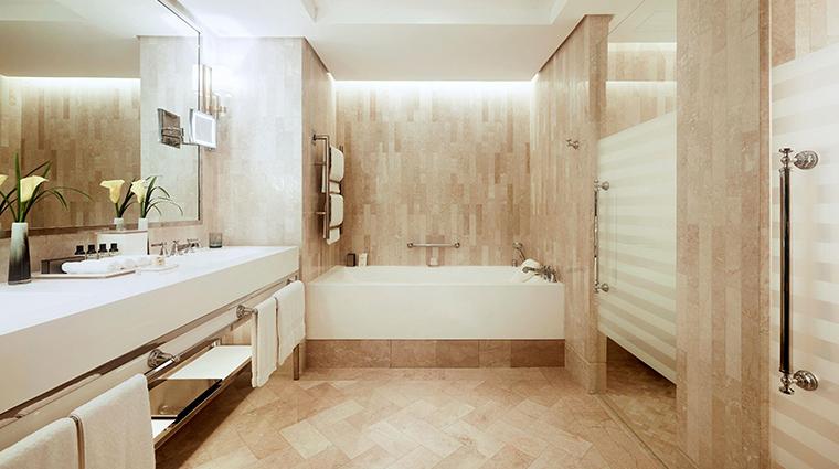 fairmont amman suite bathroom