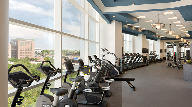 fairmont austin fitness center