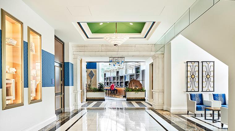 fairmont austin lobby