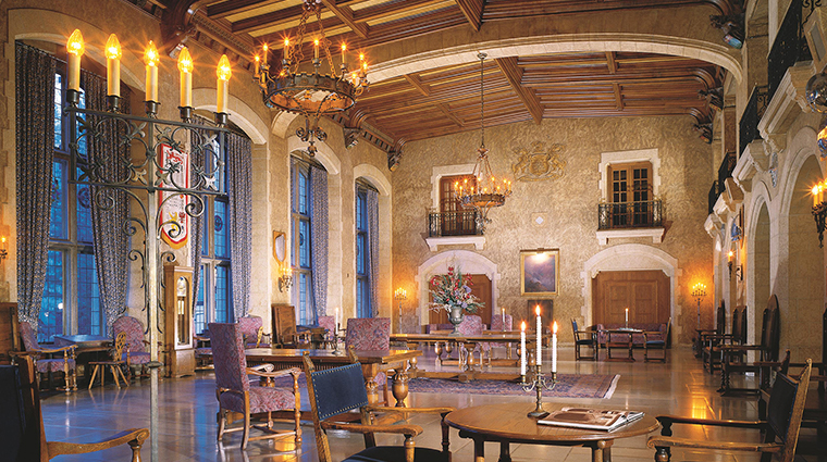 Fairmont Banff Springs hall