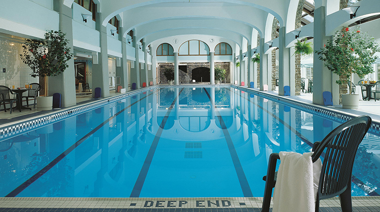 Fairmont Banff Springs pool