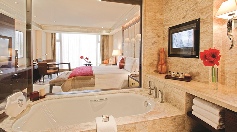 Fairmont Beijing Hotel bathtub