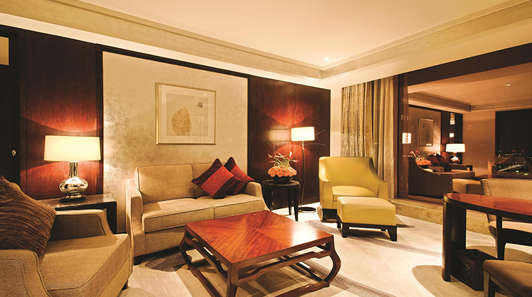 Fairmont Beijing Hotel gold suite
