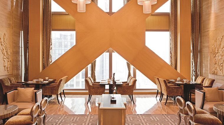 Fairmont Beijing Hotel lounge