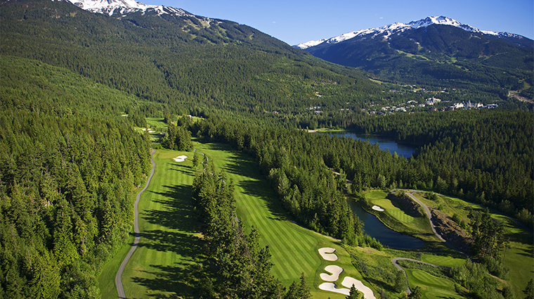 fairmont chateau whistler golf