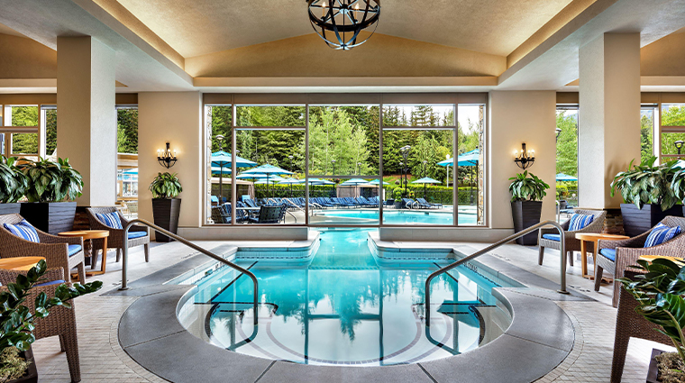 fairmont chateau whistler indoor pool