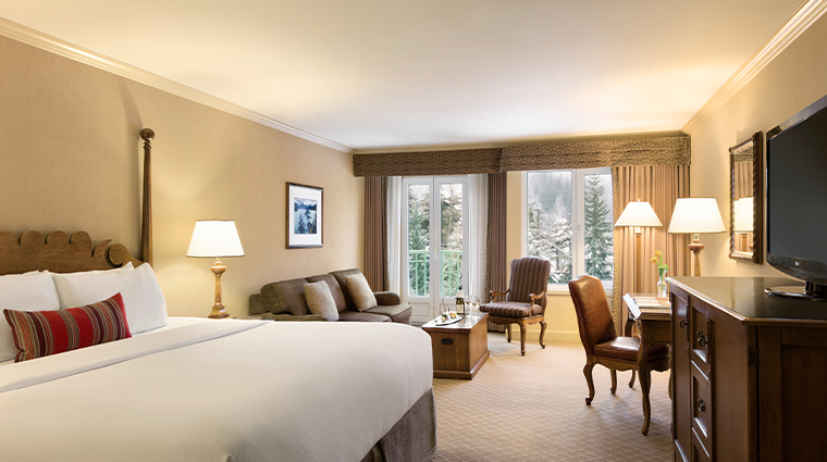 fairmont chateau whistler slopeside view room