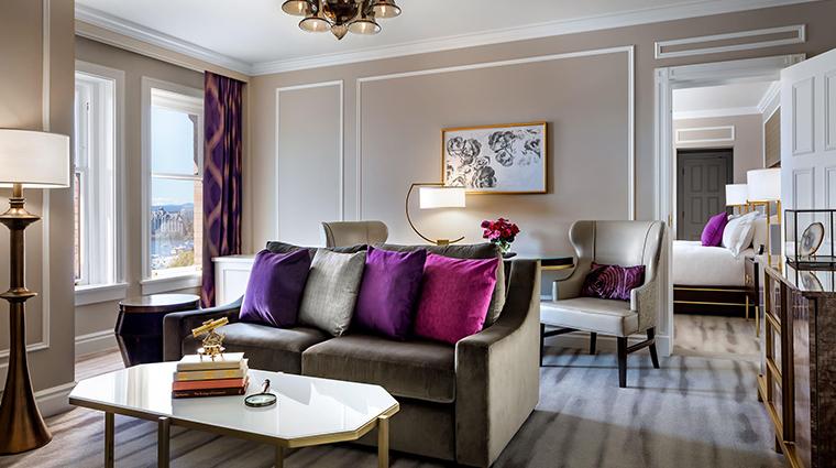 fairmont empress gold one suite living room