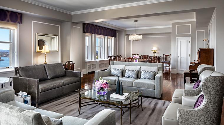 fairmont empress vice regal suite