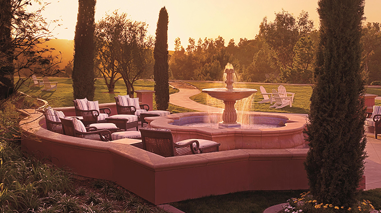 fairmont grand del mar spa fountain