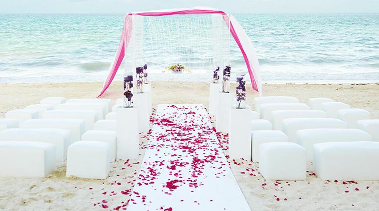fairmont mayakoba riviera maya beach wedding