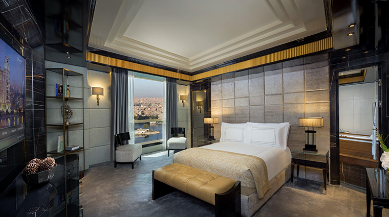 fairmont nile city diplomatic suite bedroom