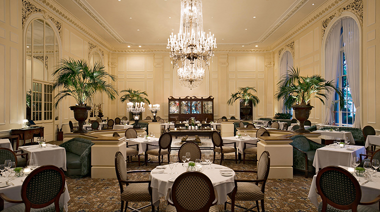 Fairmont Olympic Hotel dining