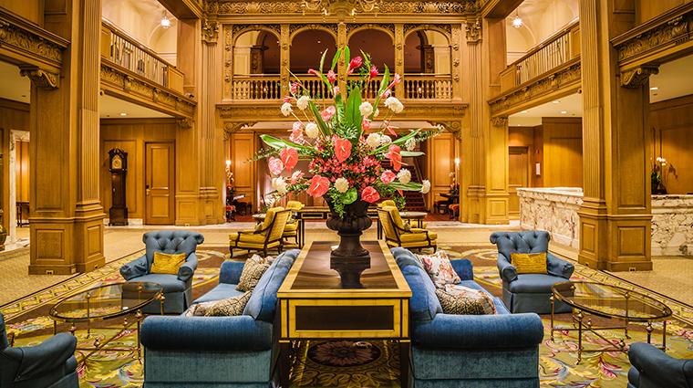 Fairmont Olympic Hotel lobby