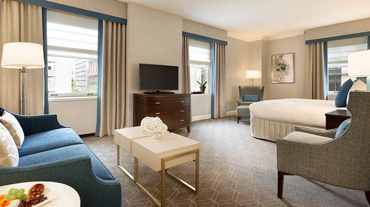 fairmont olympic hotel corner suite