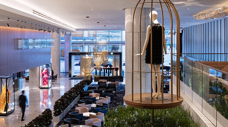 fairmont pacific rim lobby lounge