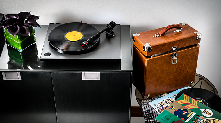 fairmont pacific rim owners suite record player