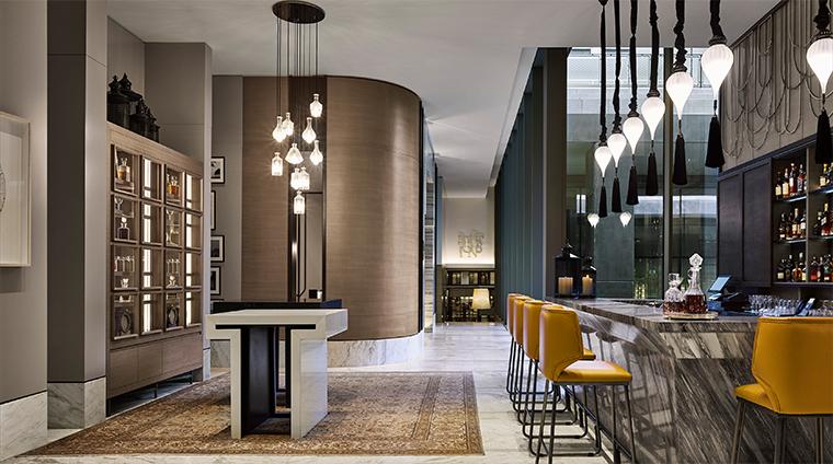 fairmont quasar istanbul marble bar