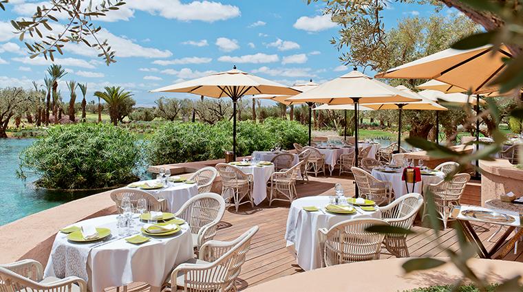 fairmont royal palm marrakech lOlivier Restaurant