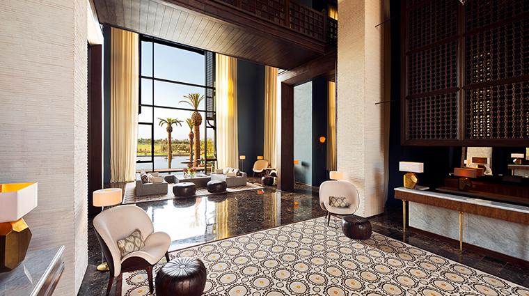 fairmont royal palm marrakech lobby