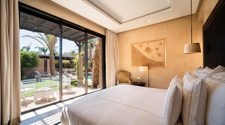 fairmont royal palm marrakech prince villa bedroom